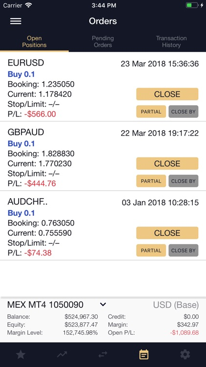 MEX Mobile Trader screenshot-3