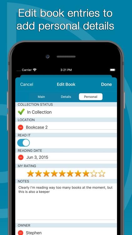 CLZ Books - Book Inventory screenshot-4