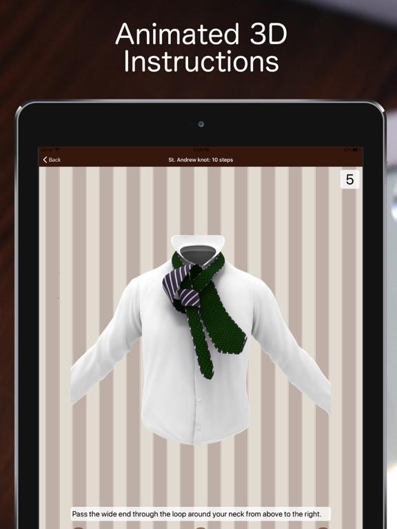 Tie a Necktie 3D Animated Screenshots