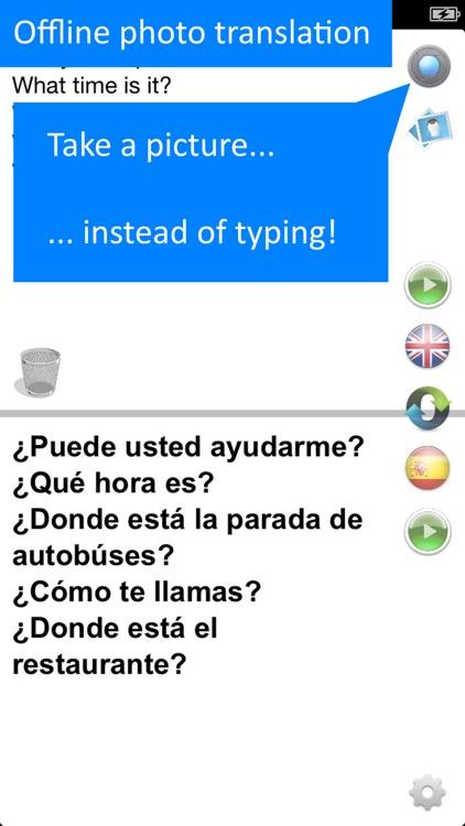 Offline Translator 8 languages screenshot-3