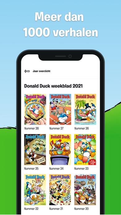 Donald Duck iPhone app afbeelding 4