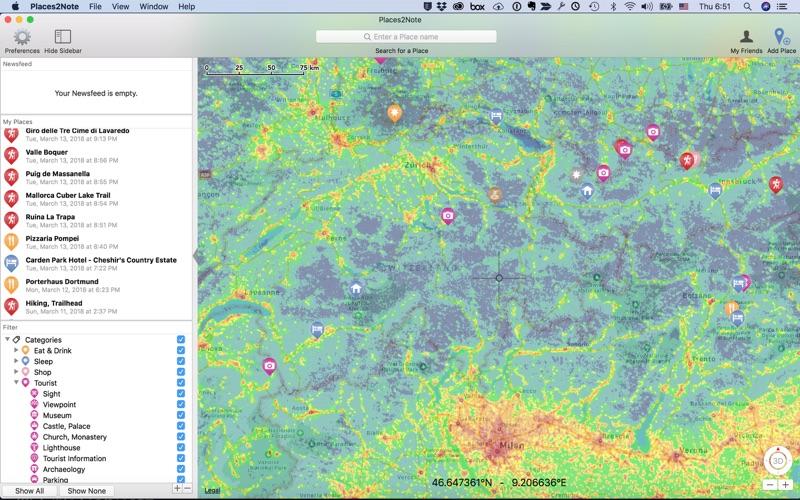 Places2Note скриншот программы 5