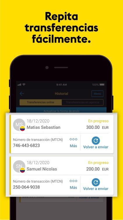 Transferencia Western Union® screenshot-4
