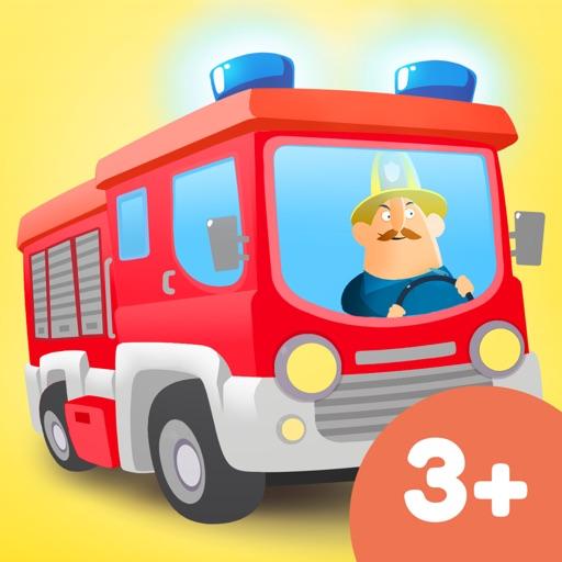 Little Fire Station - 消防車 & 消防士