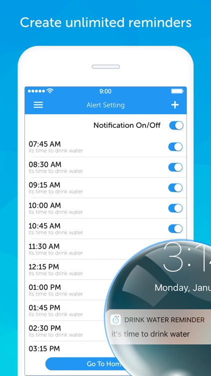 Drink Water Reminder N Tracker screenshot-3