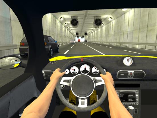 Racing in City на iPad