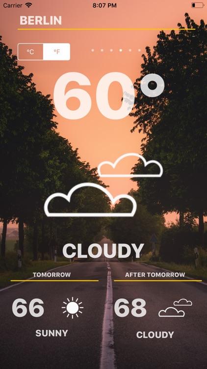 Weather - Global Forecast screenshot-4