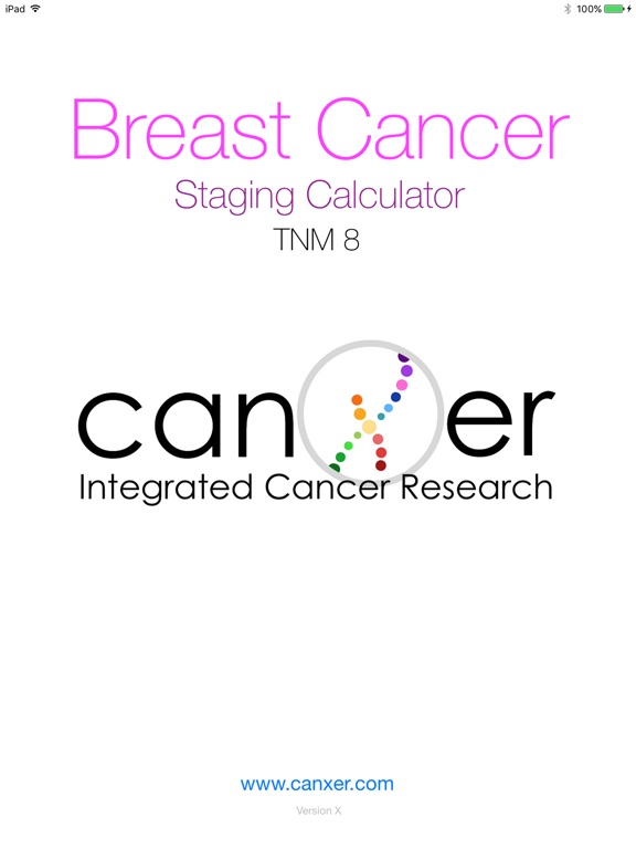 Screenshot #1 for Breast Cancer Staging TNM 8
