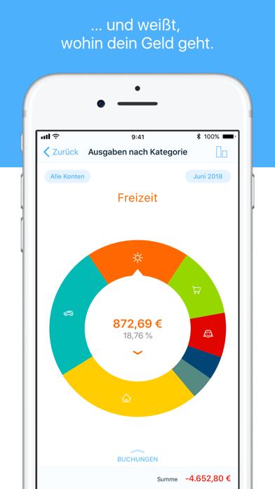 finanzblick Online-BankingScreenshot von 2