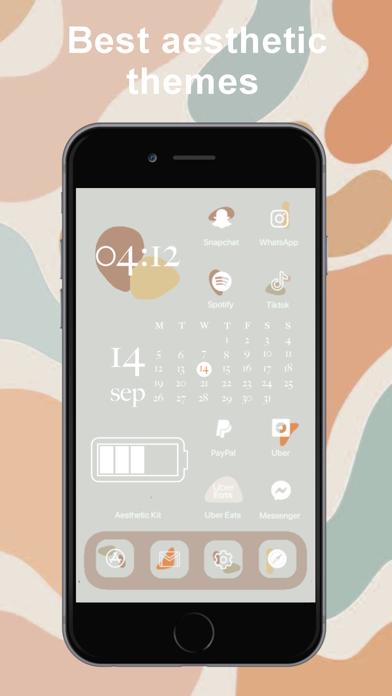 Aesthetic Kit – Icono y temasCaptura de pantalla de6