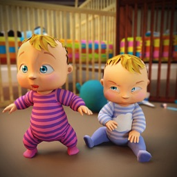 Newborn Twin Baby Mother Games