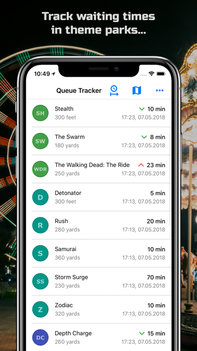 Queue Tracker screenshot one