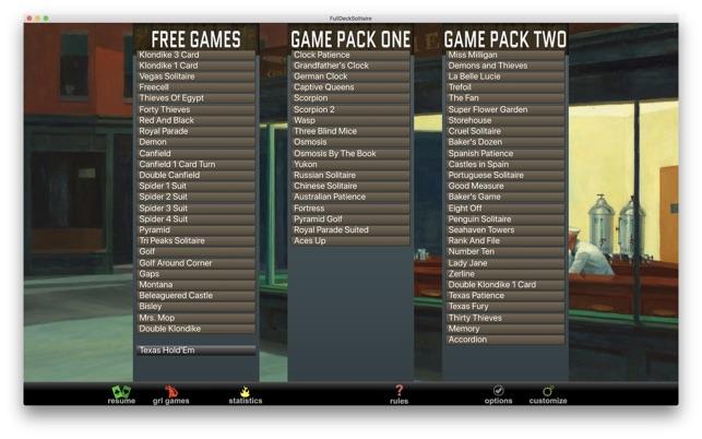 Full Deck Solitaire Screenshot
