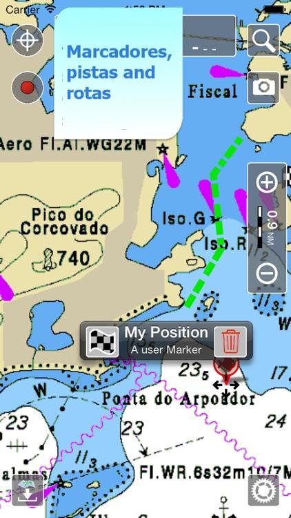 Aqua Map Brasil - GPS Náutico screenshot-3