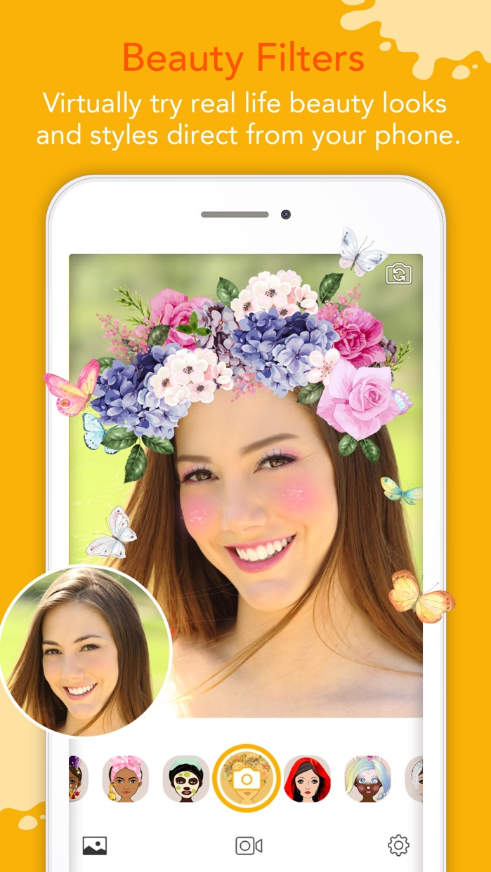YouCam Fun - Live Face Filters Screenshot
