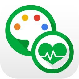【からだパレット】記録が簡単!バイタルデータ管理アプリ