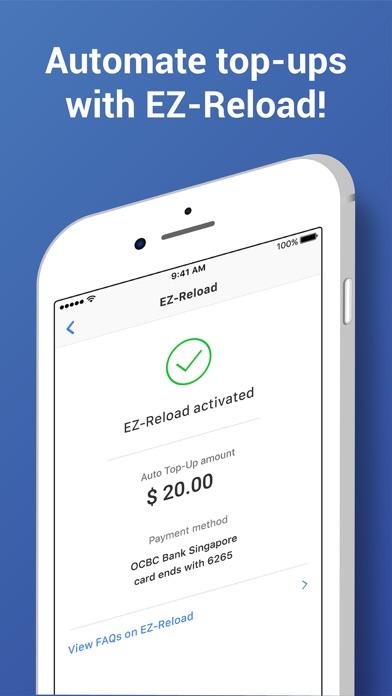 Screenshot for EZ-Link in Singapore App Store