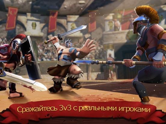 Gladiator Heroes доблестный бо для iPad