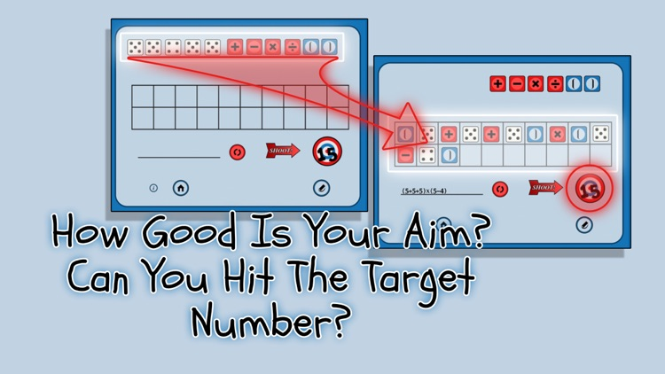 5 Dice Math Game