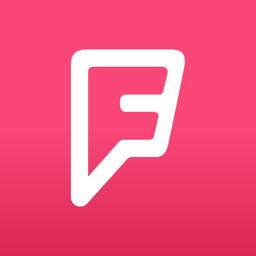 Ícone do app Foursquare City Guide