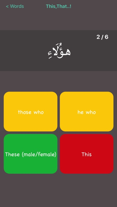 Quranic Words screenshot four