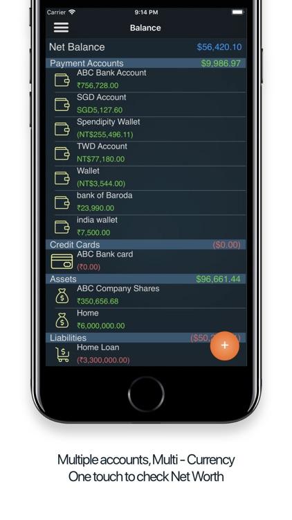 Spendipity - Expense Tracker screenshot-3