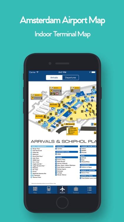 Amsterdam Offline Map, Metro screenshot-3
