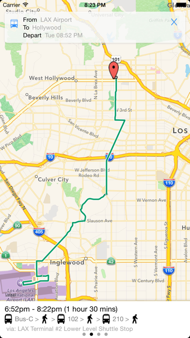 Transit Tracker - Los Angeles-3