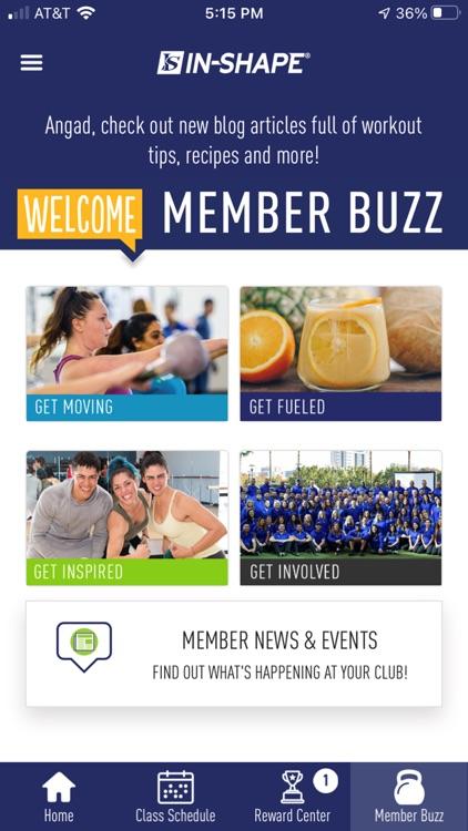 In-Shape Health Clubs screenshot-4