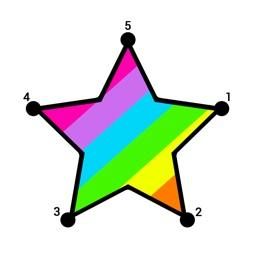 Dot To Dot Coloring