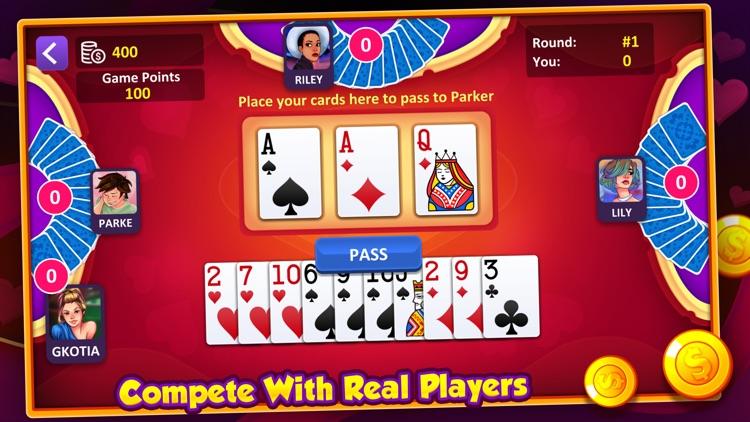 Hearts: Casino Card Game screenshot-3