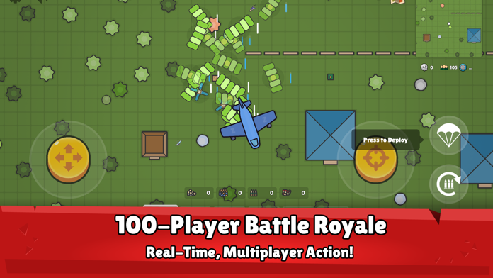 ZombsRoyale.io Screenshot