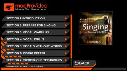 Vocal Techniques 101 screenshot two
