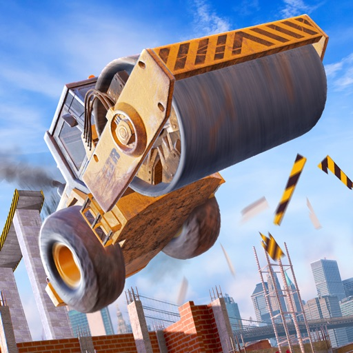 Construction Ramp Jumping free software for iPhone and iPad