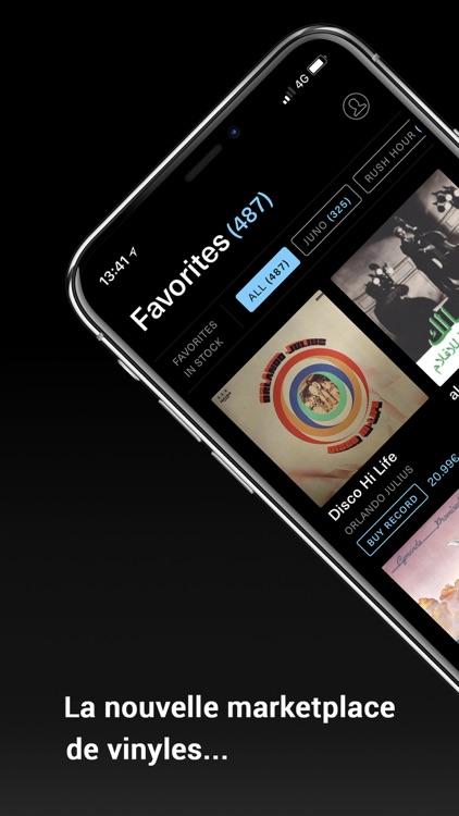 180gram, vinyl diggin app