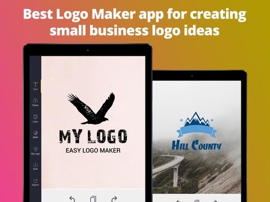 Logo Maker Creator Font Design-ipad-2