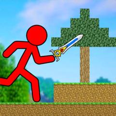 Red Stickman Fighter Adventure