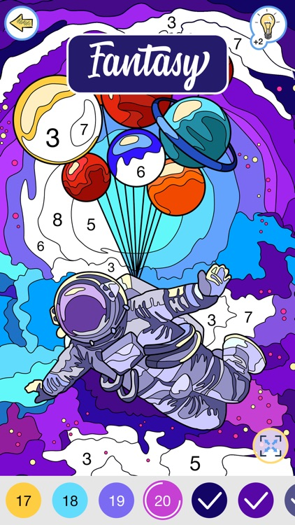 Happy Canvas: Color by Number screenshot-7
