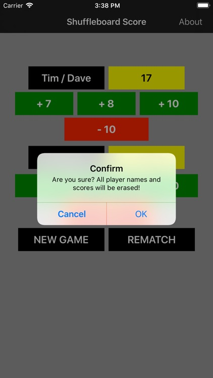 Shuffleboard Score Keeper screenshot-3