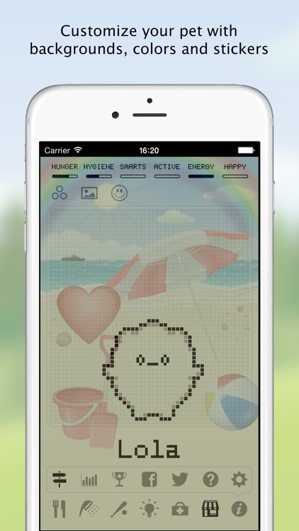 Hatchi - A retro virtual pet screenshot-2