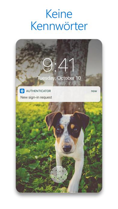 Microsoft AuthenticatorScreenshot von 2