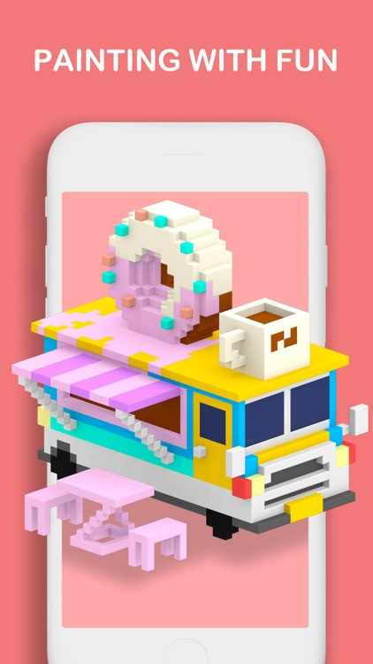 Voxel - Color by Number screenshot-6