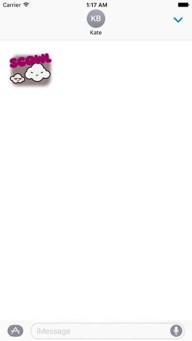 Animated Cute Weather Sticker screenshot 2