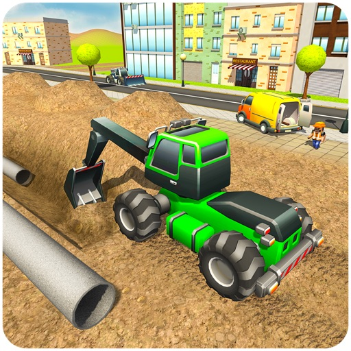 City Pipeline Construction Sim
