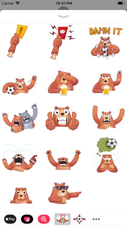 Boris - Football Fever Emoji screenshot-5