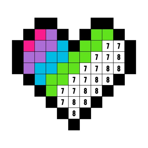 Color by Number Coloring Book by Fun Games For Free