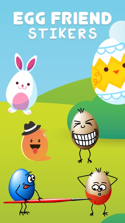 Egg Friend Stickers