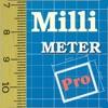 MillimeterPro  - 画面上の定規 - iPhoneアプリ