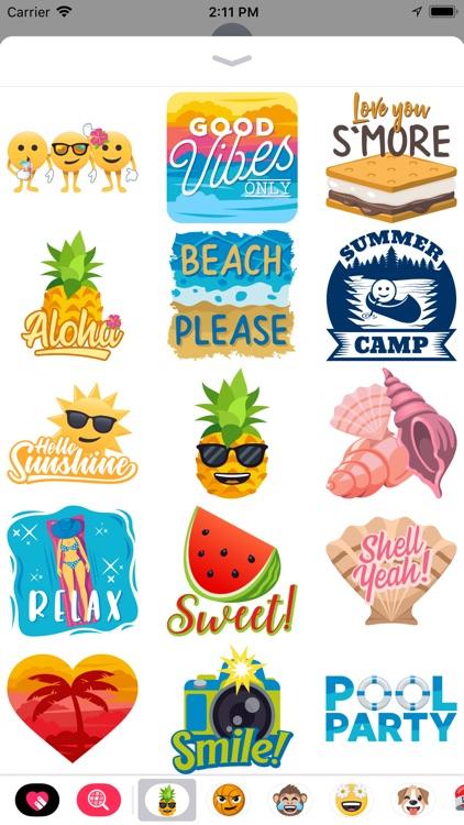 Summer Fun by EmojiOne