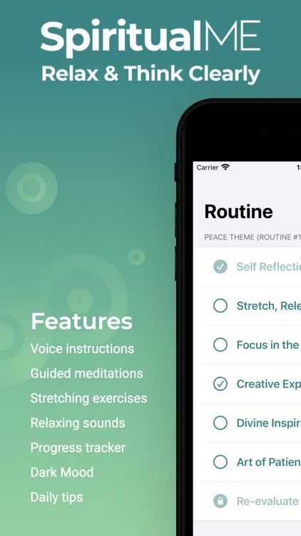 Spiritual Me: Meditation Guide screenshot-0